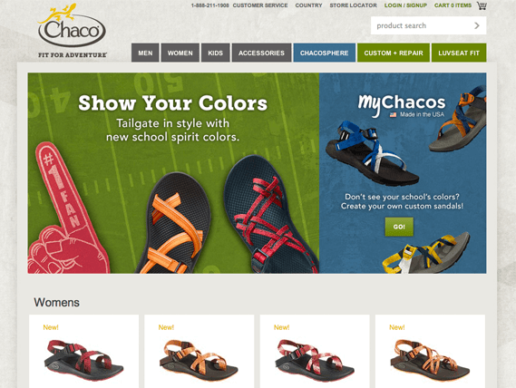 channel conflict insight Chacos personalization